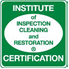 Institute of Inspection Cleaning and Restoration Certification achieved by all carpet cleaning authority technicians